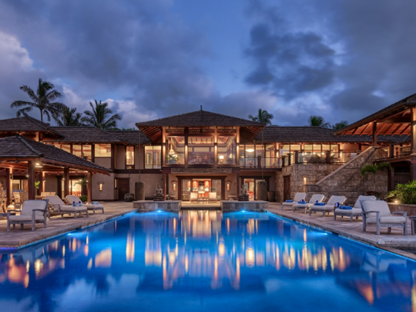 Hale 'Ae Kai Kauai Hawaii vacation rental is the most expensive home ever sold on Hawaii.