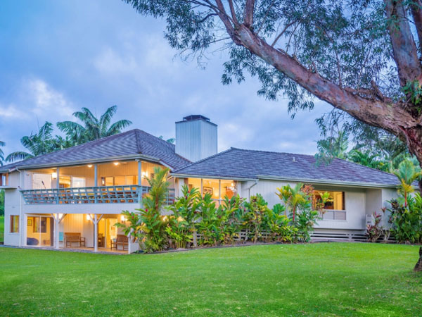 Ke'alohi Wai Princeville vacation home rental Princeville Kauai, Hawaii